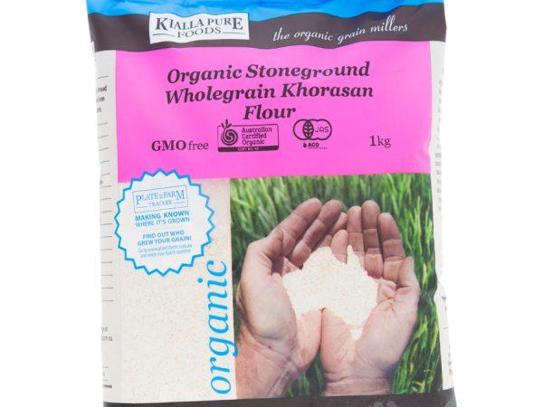 Stone Ground Whole Grain Khorasan Flour