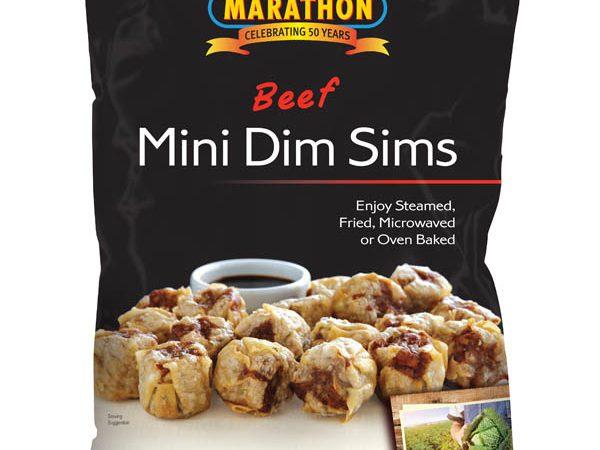 Marathon Beef Mini Dim Sims 1kg
